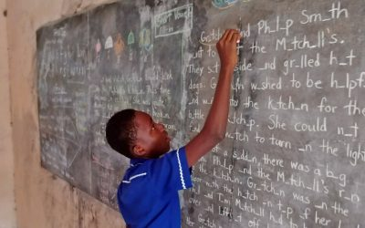Lewis School Teacher Brings Lewis Approach to Ghana