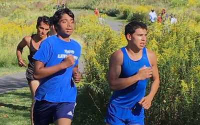 Lewis Cross Country Places Second in Meet